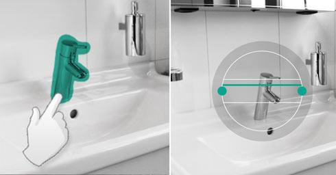 badkamer, douche, hansgrohe, home, app, android