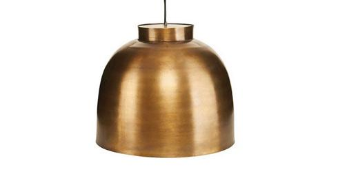 house doctor, bowl, hanglamp, verlichting, lamp
