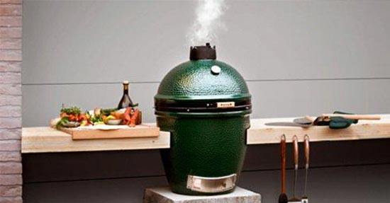 BBq Trend  Big Green Egg