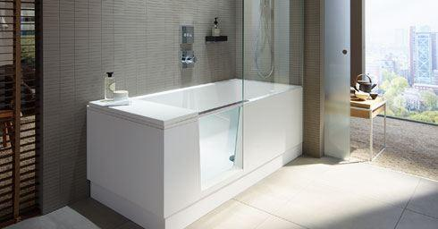 Duravit shower and bath