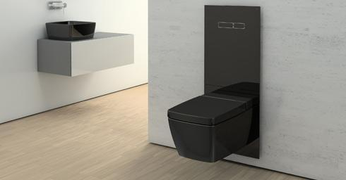 Black is beautiful alles over het toilet en de laatste toilettrends - Deco wc zwart ...