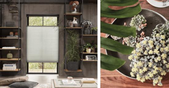 Botanische trend in raambekleding raambekleding zonwering