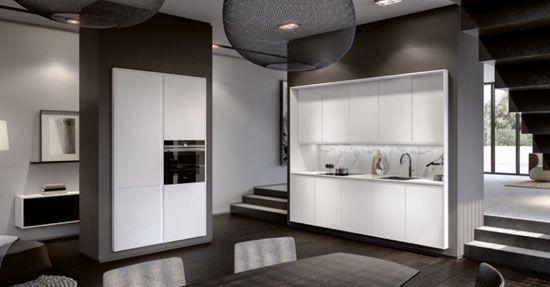 Nieuwe Design Keuken : De nieuwe geometrie van de keuken keuken