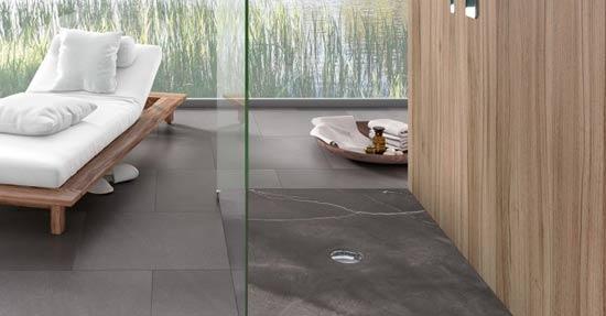 Interieur Natuur Badkamer : Douchevloeren met decors van edward van vliet badkamervloer