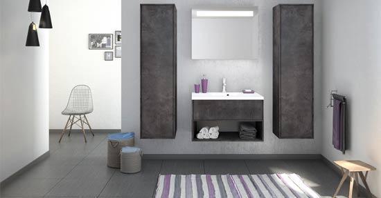 Badkamermeubel Zwart Wit : Moderne zwart wit badkamer inrichting