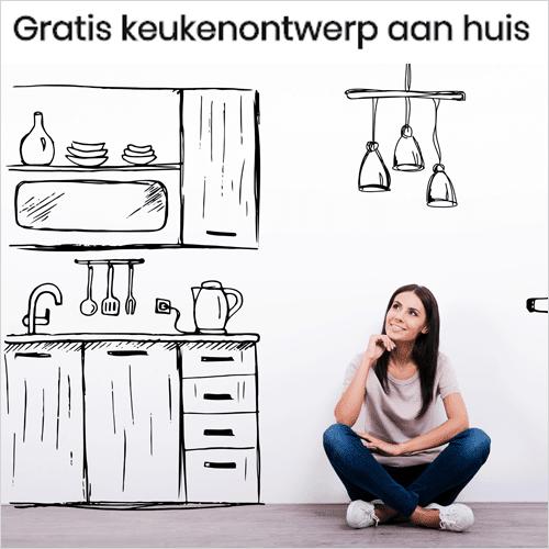 Keukenontwerp aan huis