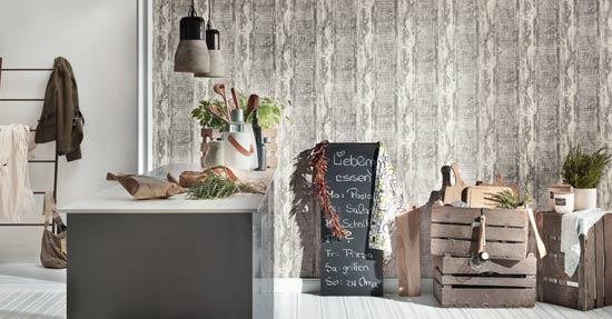 c te d azur behang wandbekleding interieur. Black Bedroom Furniture Sets. Home Design Ideas