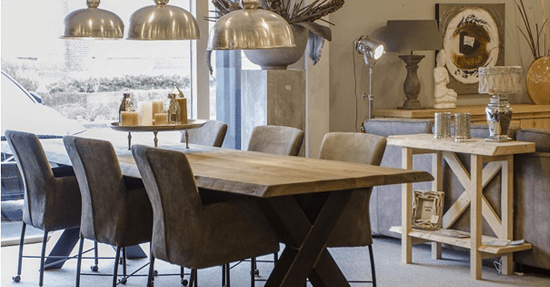Inrichting Woonkamer Steigerhout : Van steigerhout naar echte boomstammen meubels interieur