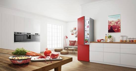 Keuken Kleur Veranderen : Koelkast die van kleur kan veranderen koelen vriezen keuken