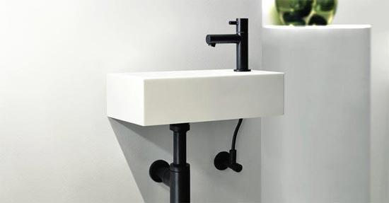 Badkamer Kraan Zwart : Zalig zen in zwart badkamerkranen badkamer