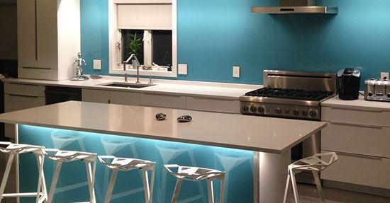 Achterwand Voor Keuken : Een kunststof achterwand keuken
