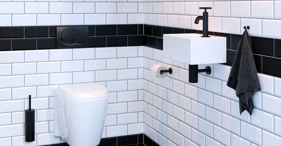 Toilet Accessoires Zwart : Toilet accessoires zwart. fabulous svartsjn with toilet accessoires