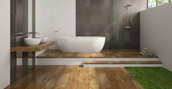 Badkamer Met Hout : Comeback van hout in de badkamer badkamermeubelen badkamer