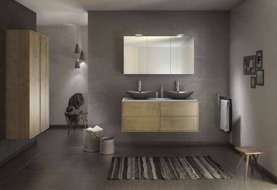 Houten Kolomkast Badkamer : Comeback van hout in de badkamer badkamermeubelen badkamer