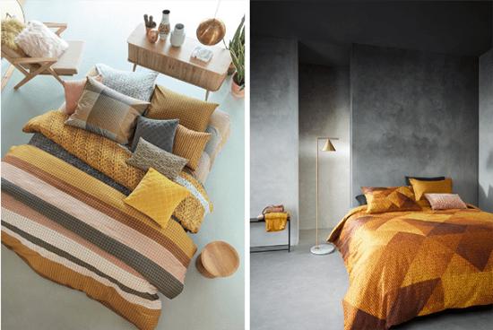 Slaapkamertrend 2019 okergeel