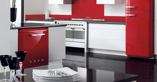 Retro Design Keuken : Smeg s style vaatwasser huishoudelijk keuken