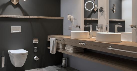 Handige Indeling Badkamer : Geesa introduceert handige stylefinder badkameraccessoires