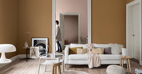 Trendkleur Diep Blauw : De kleur van 2019: spiced honey kleurentrends 2019 interieur