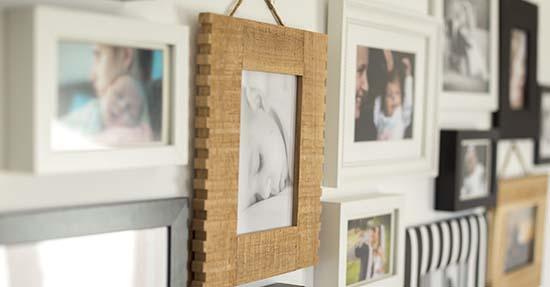 Fotolijstjes in je interieur: zo doe je dat!