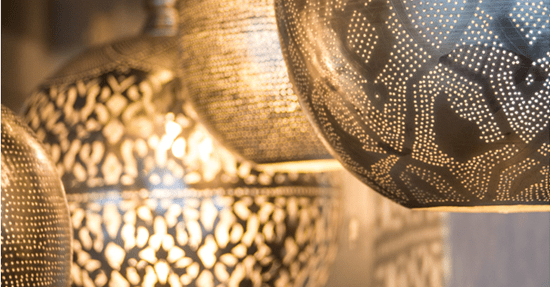Marokkaanse Lampen Huis : Oosterse hanglampen van ghalia verlichting interieur