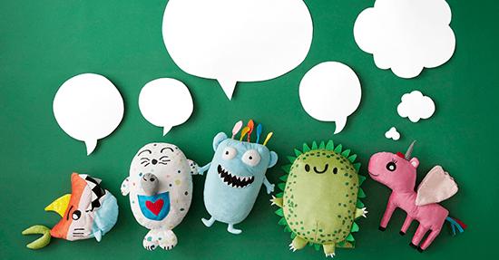 Verrassend Kinderen ontwerpen IKEA knuffelcollectie | Kinderkamer | Slaapkamers YK-39