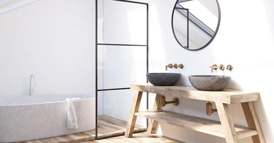 Inrichten en indelen   badkamer