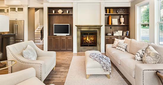 De landelijk stijl in je hele woning