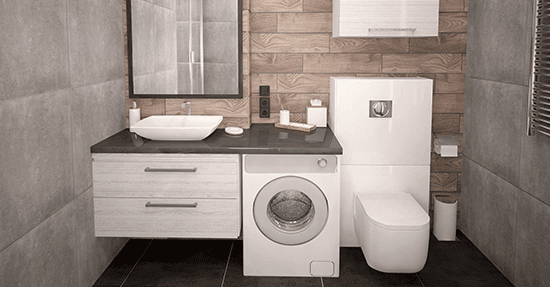 Hoe maak je optimaal gebruik van kleine badkamers | Inrichten en ...