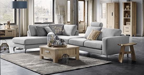 Tijdloos een grijze hoekbank van pronto wonen meubels interieur