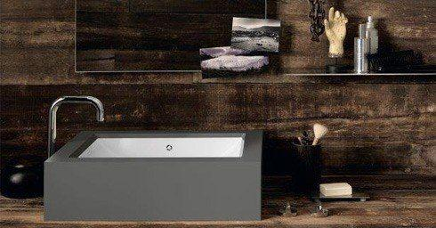 Corian Badkamer Wanden : Nieuw: corian refresh wastafels badkamer