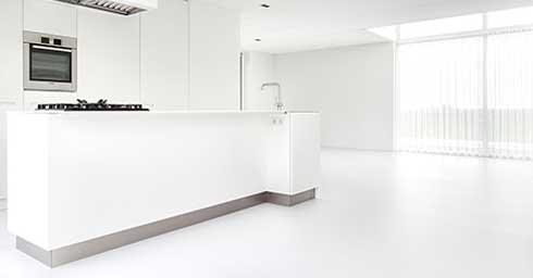 Gietvloer Betonlook Keuken : Giet en betonlook vloeren vloeren