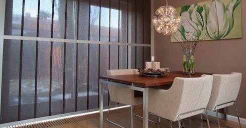 Eenvoud voor grote ramen raambekleding zonwering interieur