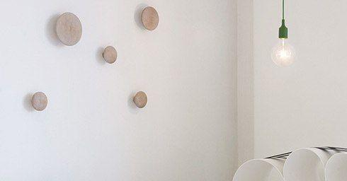 muuto the dots wandhaken interieuraccessoires interieur. Black Bedroom Furniture Sets. Home Design Ideas