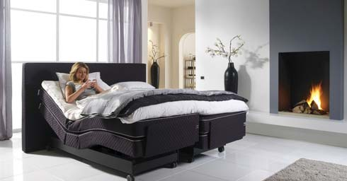 custum made slapen bed en matras slaapkamers. Black Bedroom Furniture Sets. Home Design Ideas