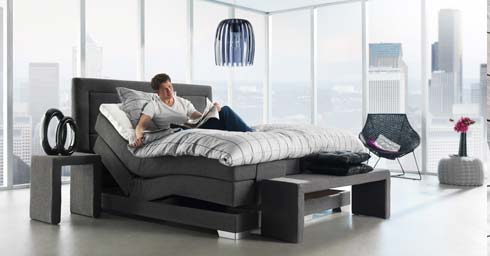 swiss sense 4800 bed en matras slaapkamers. Black Bedroom Furniture Sets. Home Design Ideas