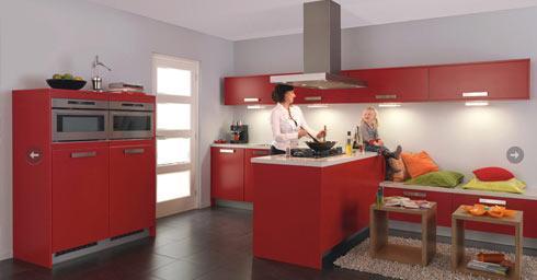 Geef uw keuken kleur keuken inrichten keuken