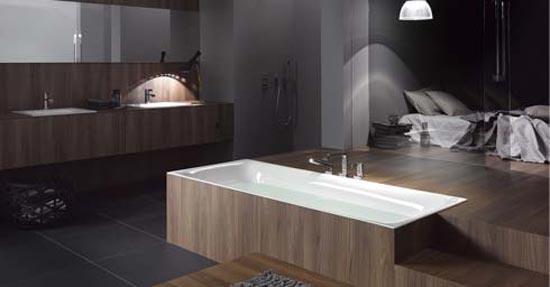 Bad van gegoten staal | Baden | badkamer