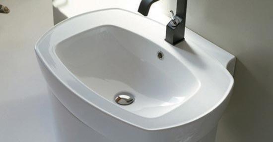 Wastafel met of zonder zuil | Wastafels | badkamer