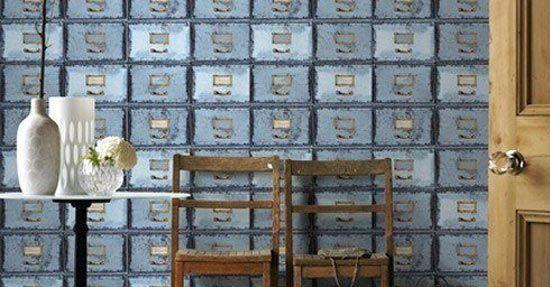 Industriele Lockerkast Kopen.Industriele Lockerkast Behang Wandbekleding Interieur