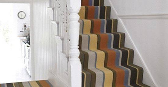 Tapijt op de trap tapijt vloeren
