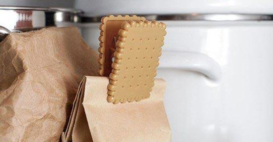 Biscuit bag clip