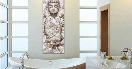 Boeddha schilderij interieur