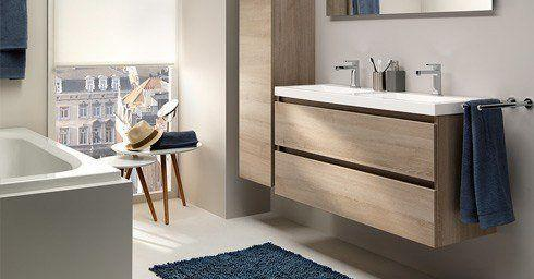 Meubels kleine badkamers badkamermeubelen badkamer for Inloopdouche desco