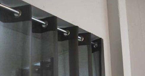 Gordijnen ophangsystemen raambekleding zonwering for Ophangsysteem gordijnen