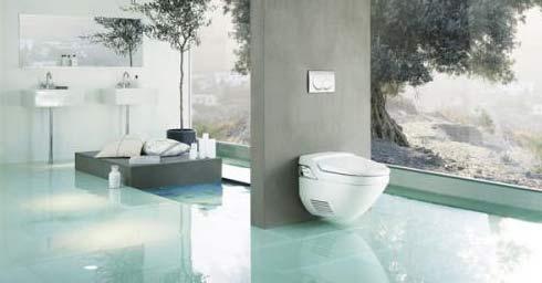 toilet extra luxe en comfort toilet hygi ne badkamer. Black Bedroom Furniture Sets. Home Design Ideas