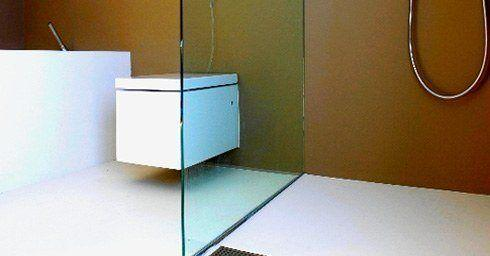 Rubber & Beton | Badkamervloer & wand | badkamer
