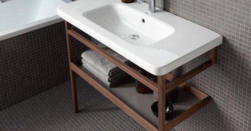Wastafel op pootjes wastafels badkamer
