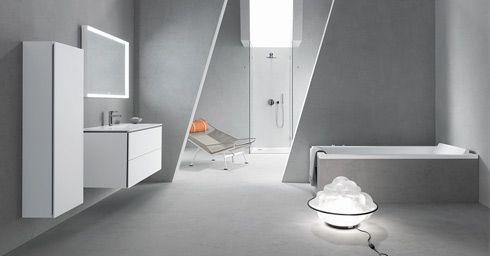 Beton in de badkamer | Badkamervloer & wand | badkamer