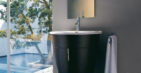 De badkamer in het klein wastafels badkamer for Aparte wastafels