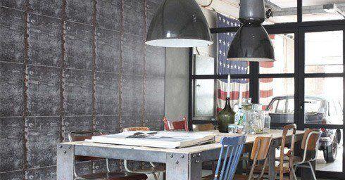 Onbewerkte Rauwe Muren : Vintage rules! interieurstoffen interieur
